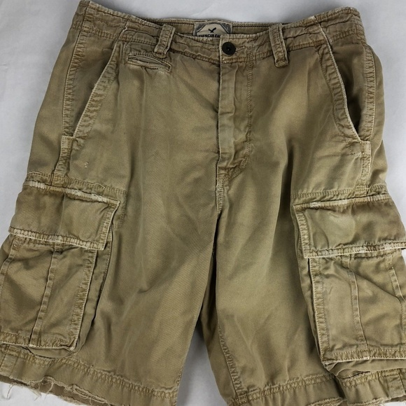American Eagle Outfitters Other - American Eagle Distressed Khaki Shorts Size 33